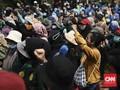 Mahasiswa Soraki Jokowi soal Demo Omnibus Law Dipicu Hoaks