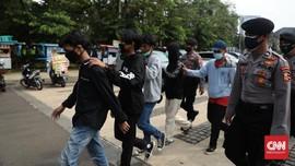Polisi Kantongi Identitas Fasilitator Rusuh Demo Omnibus Law