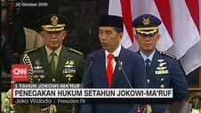VIDEO: Penegakan Hukum Setahun Jokowi-Ma'ruf