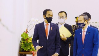 Jokowi Puji Denso hingga Toyota di Depan PM Jepang Suga