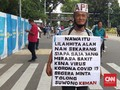 Ikut Demo, Kakek Suwono Harap Jokowi Atasi Pandemi Covid-19
