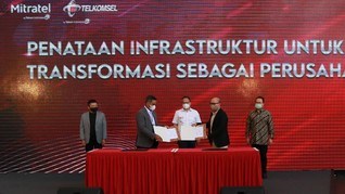 Kementerian BUMN Apresiasi Konsolidasi Menara TelkomGroup