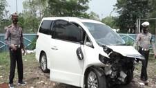 VIDEO: Polisi Kantongi Identitas Penabrak Mobil Hanafi Rais