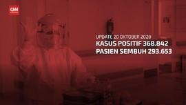VIDEO: 20 Oktober, Tambah 3.602, Kasus Positif Capai 368.842