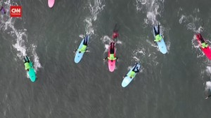 VIDEO: Sensasi Berselancar di 'Cold Hawaii'