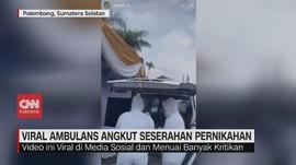 VIDEO: Viral Ambulans Angkut Seserahan Pernikahan