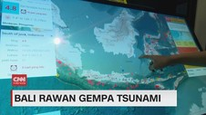 VIDEO: Bali Rawan Gempa Tsunami