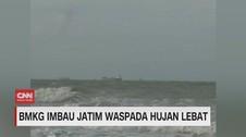 VIDEO: BMKG Imbau Jatim Waspada Hujan Lebat