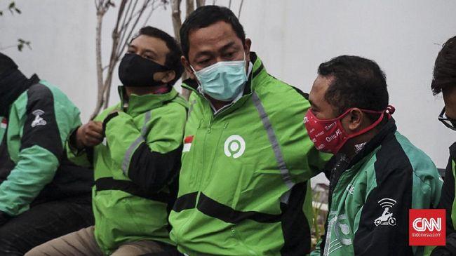Calon wali kota Semarang, Jawa Tengah Hendrar Prihadi menyamar menjadi ojol selama kurang lebih 5 jam.