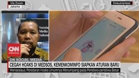VIDEO: Cegah Hoaks di Medsos, Kemenkominfo Buat Aturan Baru
