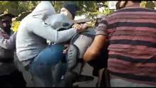 Propam Periksa Polisi Pemukul Mahasiswa yang Diamankan Intel