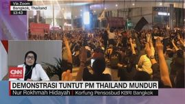 VIDEO: Demonstrasi Tuntut PM Thailand Mundur