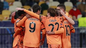 FOTO: Dua Gol Morata Antar Juventus Tekuk Dynamo Kiev