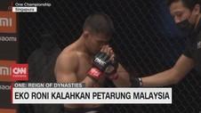 VIDEO: Eko Roni Kalahkan Petarung Malaysia
