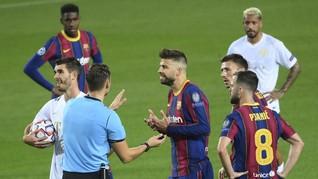 Perpanjang Kontrak, Pique Khianati Messi Di Barcelona