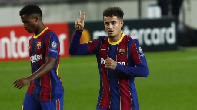 Barcelona Tawarkan Coutinho ke Juventus