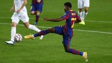 FOTO: Pesta Barcelona Hapus Trauma Liga Champions