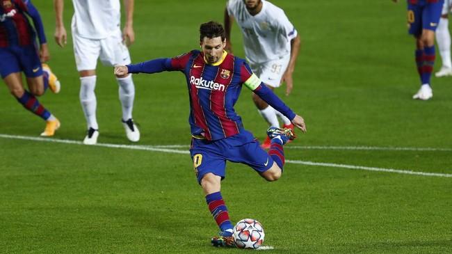 Barcelona menang 5-1 atas Ferencvaros setelah mengalami kekalahan telak pada laga perempat final Liga Champions musim lalu.