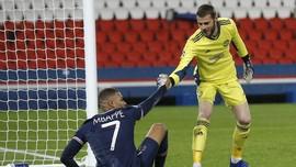 PSG vs Man Utd: De Gea Buat Pusing Neymar dan Mbappe
