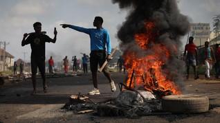 FOTO: Amarah Warga Nigeria Tolak Kekerasan Polisi