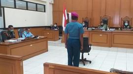 Anggota TNI AL Pembunuh Babinsa Pekojan Divonis 12 Tahun