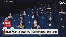 VIDEO: Bioskop di Ibu Kota Kembali Dibuka