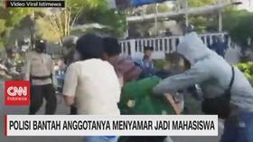 VIDEO: Polisi Bantah Anggotanya Menyamar Jadi Mahasiswa