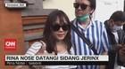 VIDEO: Beri Dukungan Moril, Rina Nose Datangi Sidang Jerinx