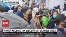 VIDEO: Warga Kecewa Tak Bisa Daftar Banpers UMKM