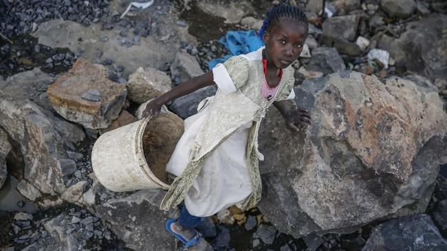 Jumlah anak-anak Kenya yang terpaksa atau dipaksa untuk bekerja di tengah pandemi dilaporkan meningkat.