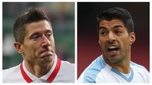 Bayern vs Atletico: Pembuktian Lewandowski dan Suarez