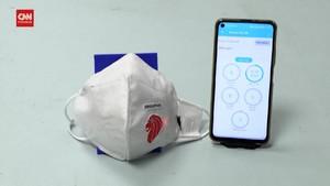 VIDEO: Masker Pintar untuk Nakes Merawat Pasien Covid-19