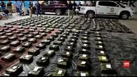 VIDEO: Polisi Anti Narkoba Sita Kokain Senilai 7,3 T