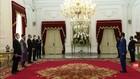 VIDEO: Jokowi Terima Surat Kepercayaan 7 Dubes Negara Sahabat