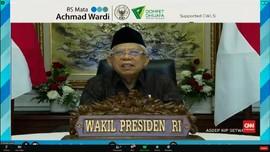 VIDEO: Ma'ruf Amin Dorong Warga Untuk Wakaf Uang