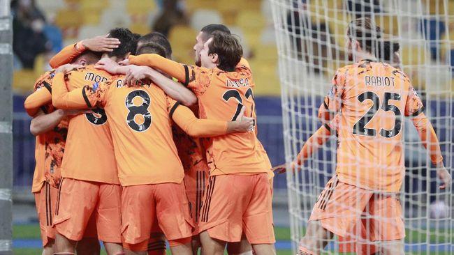Juventus menang 2-0 atas Dynamo Kiev dalam pertandingan Liga Champions, Rabu (21/10) dini hari waktu Indonesia.