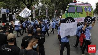 Wagub DKI Janji Cari Jalan Keluar Buat Pekerja Ambulans
