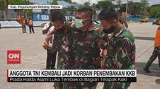 VIDEO: 2 Anggota TNI jadi Korban Penembakan KKB di Papua
