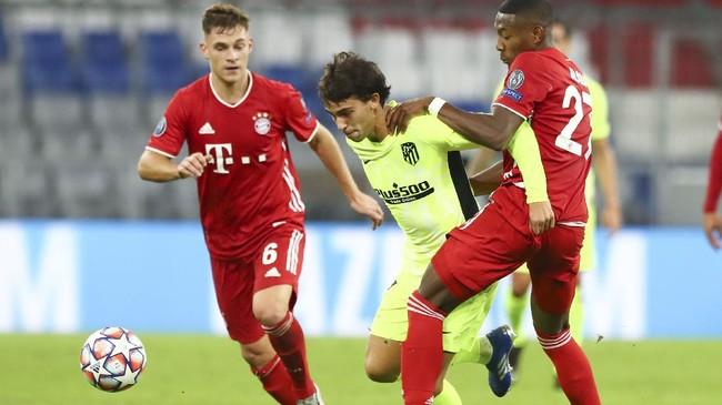 Bayern Munchen berhasil mengalahkan Atletico Madrid 4-0 pada laga pertama Grup A Liga Champions di Allianz Arena, Rabu (21/10).