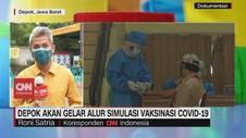 VIDEO: Depok Akan Gelar Simulasi Vaksinasi Covid-19