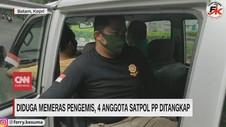 VIDEO: Diduga Memeras Pengemis, 4 Anggota Satpol PP Ditangkap