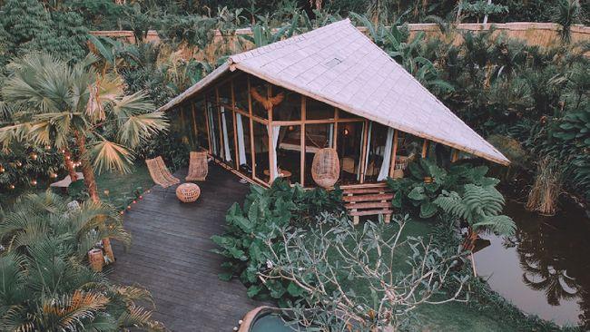 Berikut sejumlah tempat penginapan berkonsep tiny house di Indonesia.