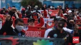 Padat Massa Aksi, Bundaran HI Arah Thamrin Ditutup Sementara