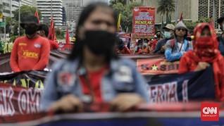 Bawa Petasan, Seseorang Diduga Penyusup Demo Ditangkap Polisi