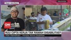 VIDEO: Kejanggalan Dalam RUU Cipta Kerja Untuk Disabilitas