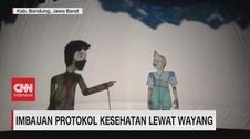 VIDEO: Imbauan Protokol Kesehatan Lewat Wayang