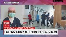 VIDEO: Potensi Dua Kali Terinfeksi Covid-19