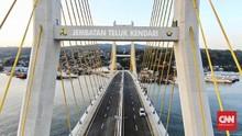 Mengenal Jembatan Teluk Kendari yang Baru Diresmikan Jokowi