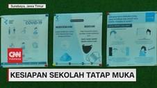 VIDEO: Kesiapan Sekolah Tatap Muka di Surabaya