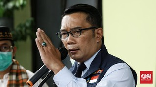 Ridwan Kamil Perpanjang PSBB Bodebek Hingga 25 November